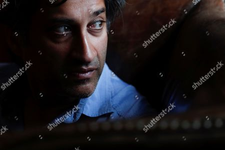 British documentary filmmaker Asif Kapadia poses during an interview with Spanish international news agency Efe in Madrid, Spain, 09 July 2019, on occasion of his documentary 'Diego Maradona' on the life of Argentinean soccer legend Diego Armando Maradona.