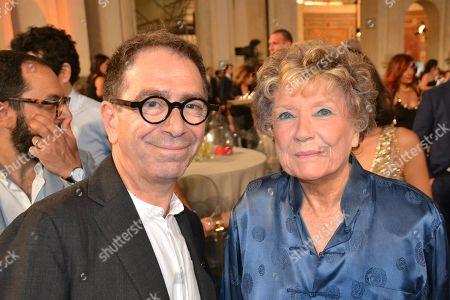 Dacia Maraini and Pino Strabioli