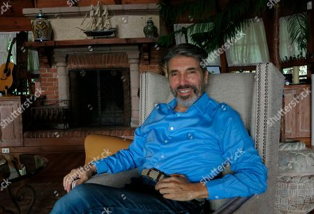 """Stock Picture of Argentine-born musician Diego Verdaguer poses for a portrait in his home in Mexico City. Verdaguer will celebrate his 50 year career with the Italian pop songs he grew up listening to, in his upcoming album """"Corazón Bambino,"""" which includes the single """"Cuando, cuando, cuando"""