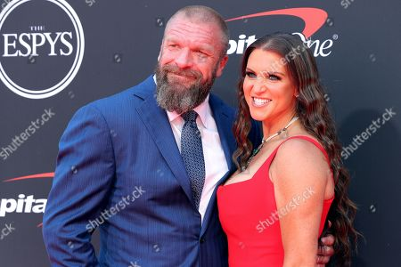 Paul Levesque and Stephanie McMahon-Levesque