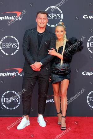 Stock Image of Sam Martin and Nastia Liukin