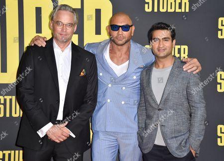 Michael Dowse, Dave Bautista and Kumail Nanjiani