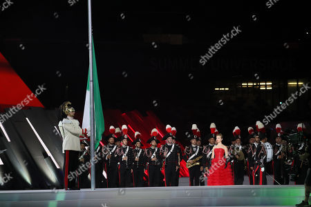 Editorial picture of San Paolo stadium opening ceremony, Naples, Italy - 03 Jul 2019