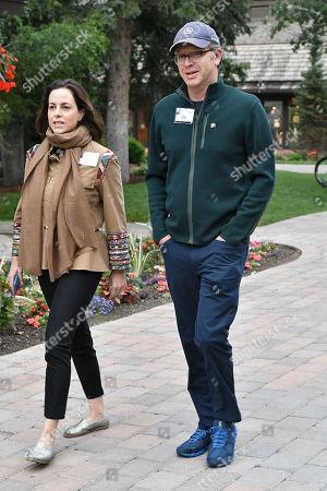 Adriana Cisneros and Nick Griffin