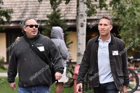 Stock Photo of Rony Abovitz, CEO of Magic Leap and Ynon Kreiz