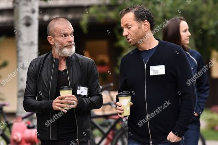 Stock Image of Aviv Nevo, venture capitalist and Michael Rapino, CEO of Live Nation Entertainment