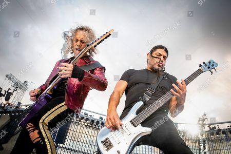 Metallica - Kirk Hammet and Robert Trujillo