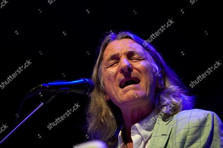 Roger Hodgson performs during a concert held at Palacio Real de Pedralbes in Barcelona, Catalonia, Spain, 09 July 2019. Hodgson perform during his first tour in Spain for the 40 years of his album 'Breakfast in America'.