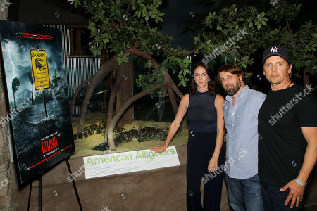 Kaya Scodelario, Alexandre Aja (Director), Barry Pepper