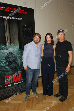 Alexandre Aja (Director), Kaya Scodelario, Barry Pepper