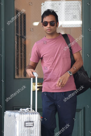 Editorial photo of Aziz Ansari out and about, New York, USA - 09 Jul 2019