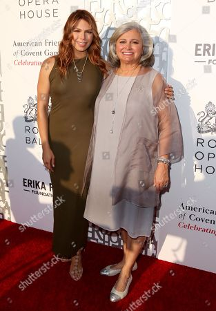 Erika Olde and Susan A. Olde OBE