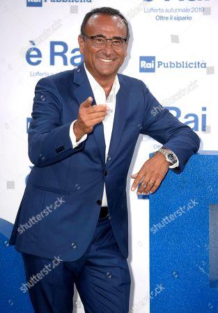 Stock Photo of Carlo Conti