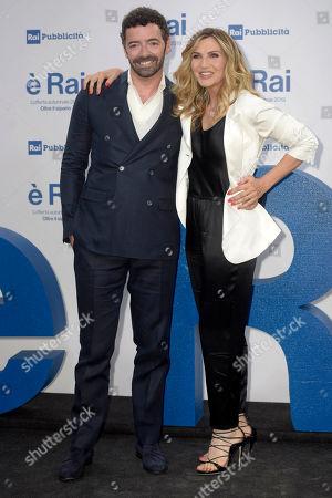 Lorella Cuccarini and Alberto Matano