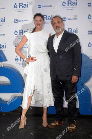 Daniela Ferolla and Marcello Masi