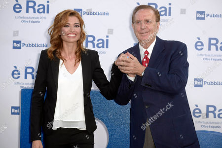 Michele Mirabella and Carlotta Mantovan