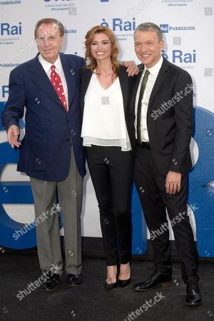 Michele Mirabella, Carlotta Mantovan and Pier Luigi Spada