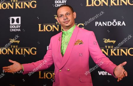 """Eric Andre arrives at the world premiere of """"The Lion King"""", at the Dolby Theatre in Los Angeles"""