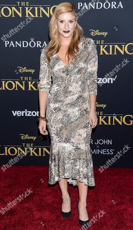 Editorial photo of 'The Lion King' film premiere, Arrivals, Dolby Theatre, Los Angeles, USA - 09 Jul 2019