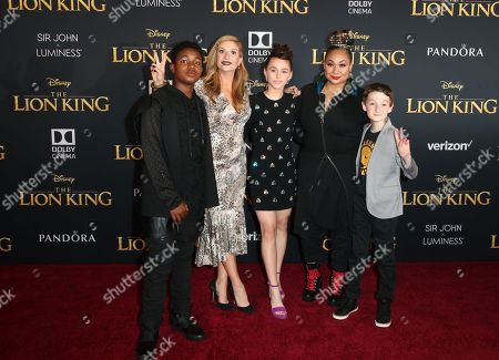Editorial image of 'The Lion King' film premiere, Arrivals, Dolby Theatre, Los Angeles, USA - 09 Jul 2019