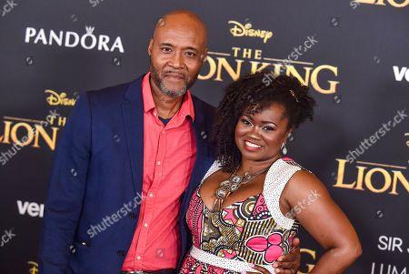 Stock Image of Donovan Harris and Niketa Calame-Harris