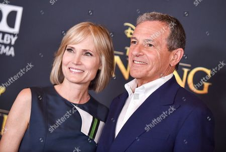 Willow Bay and Robert Iger