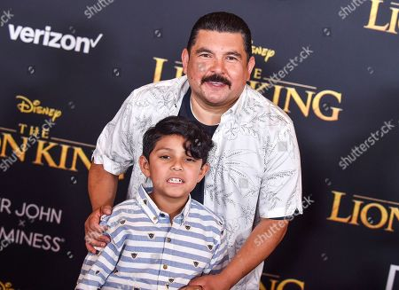 Stock Photo of Guillermo Rodriguez and Benjamin Rodriguez