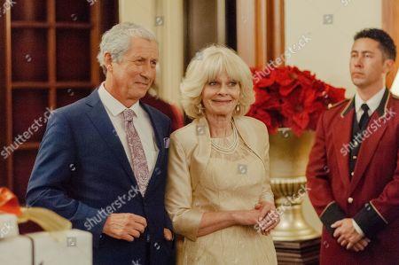 Charles Shaughnessy as Prince Charles and Deborah Ramsay as Camilla Bowles