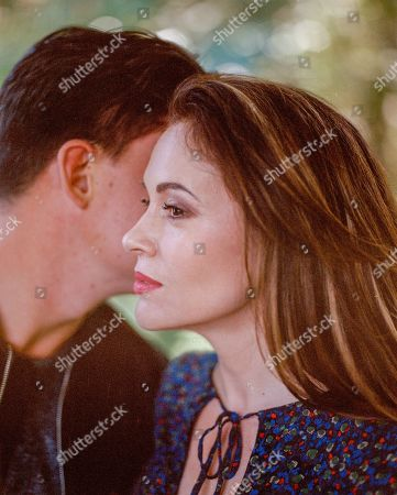 Zane Holtz as Matt and Alyssa Milano as Gabby