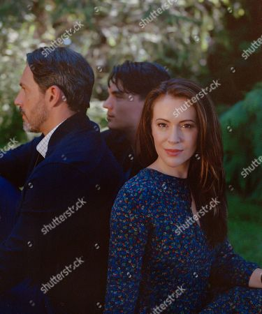 Steve Kazee as Elliott, Zane Holtz as Matt and Alyssa Milano as Gabby