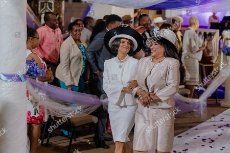 Victoria Rowell as Catherine and Jackee Harry as Mrs. Bennet