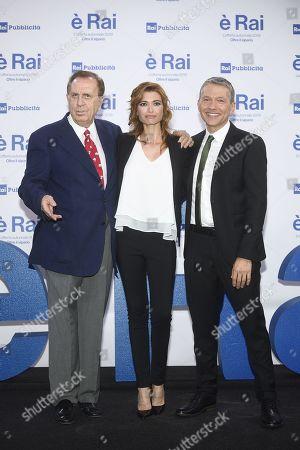 Michele Mirabella, Carlotta Mantovan, Pier Luigi Spada
