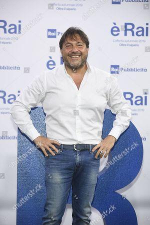 Editorial image of RAI programming launch, Milan, Italy - 09 Jul 2019