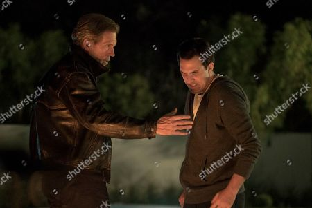 Hugh Laurie as Eldon Chance and Paul Schneider as Ryan Winter