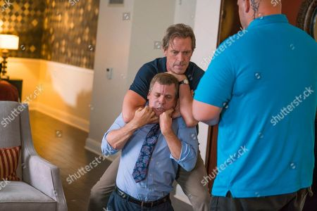 Tim Griffin as Frank Lambert, Hugh Laurie as Eldon Chance and Ethan Suplee as D