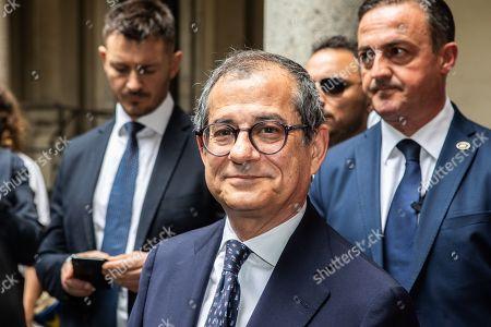 Italian Minister of Economy and Finance Giovanni Tria