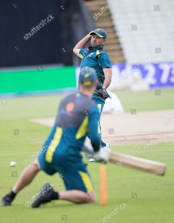 Stock Photo of Ricky Ponting during a Training Session at Edgbaston Stadium on 10th July 2019