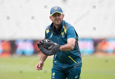 Stock Image of Ricky Ponting during a Training Session at Edgbaston Stadium on 10th July 2019