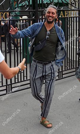 Editorial picture of Celebrities arriving at Wimbledon, London, England, 10 July 2019