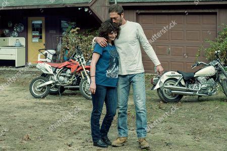 Ashleigh Cummings as Vic McQueen and Ebon Moss-Bachrach as Chris McQueen