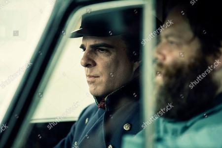 Zachary Quinto as Charlie Manx and Olafur Darri Olafsson as Bing Partridge