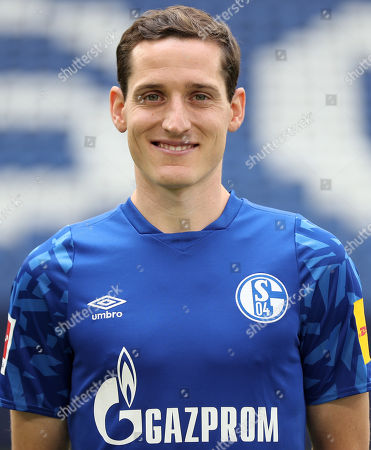 Schalke's Sebastian Rudy poses during the presentation of German Bundesliga soccer team FC Schalke 04 at Veltins-Arena in Gelsenkirchen, Germany, 10 July 2019.