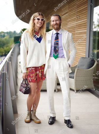 Editorial image of The Polo Ralph Lauren Suite, Wimbledon Tennis Championships, Day 9, The All England Lawn Tennis and Croquet Club, London, UK - 10 Jul 2019