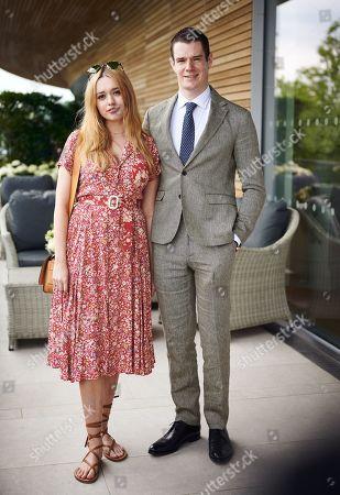 Aimee Lou Wood and Connor Swindle