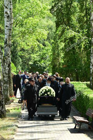 Editorial image of Funeral of Artur Brauner in Berlin, Germany - 10 Jul 2019