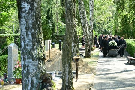 Editorial picture of Funeral of Artur Brauner in Berlin, Germany - 10 Jul 2019