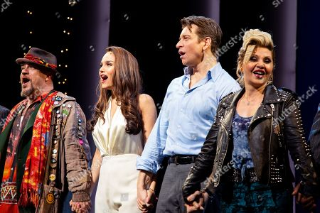 Stock Picture of Eric Anderson with Samantha Barks, Andy Karl and Orfeh
