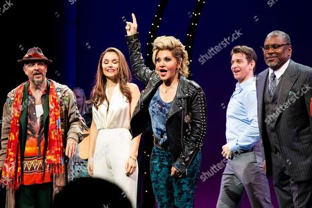 Eric Anderson with Samantha Barks, Orfeh, Andy Karl and Kingsley Leggs