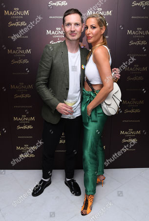 Editorial photo of Magnum Pleasure store launch, London, UK - 10 Jul 2019