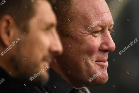 Steve Watson manager of York City.